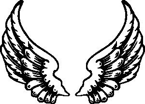 free vector Angel Wings clip art