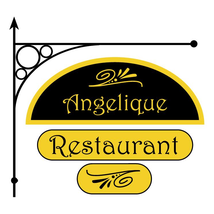 free vector Angelique restaurant