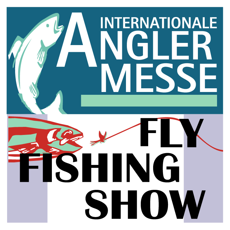 free vector Angler messe fly fishing show