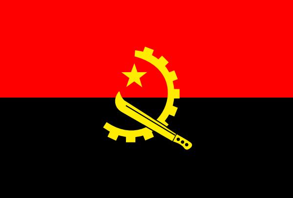 free vector Angola clip art