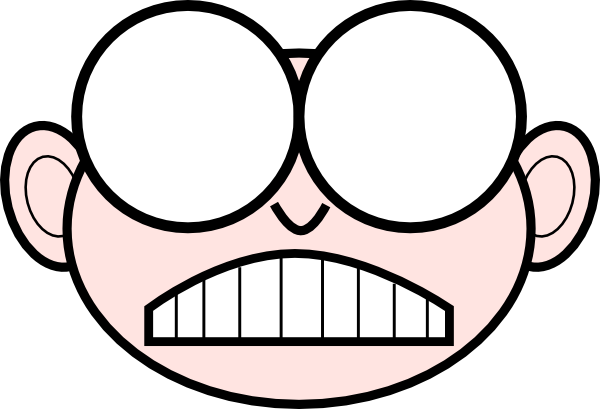 free vector Angry Nerd clip art