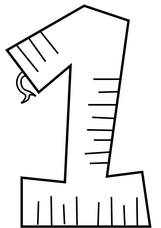 Single Line Vector Art : Animal number one line art free vector