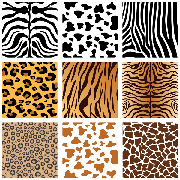 free vector Animal skin texture vector background