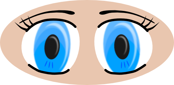 free vector Anime Eyes clip art