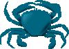 free vector Annaleeblysse Blue Crab clip art