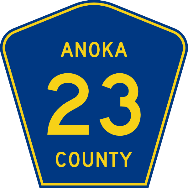 free vector Anoka County Route clip art