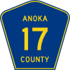 free vector Anoka County Route clip art