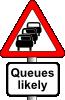 free vector Anonymous Roadsign Queues clip art