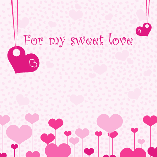 free vector Another on sweetheart romantic element vector