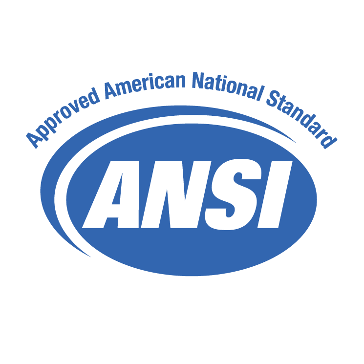 free vector Ansi approved american national standard