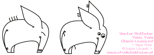 free vector AntEater Vector