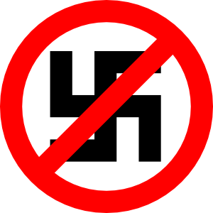 free vector Anti Nazi Symbol clip art