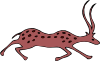 free vector Antilope clip art
