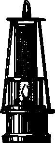 free vector Antique Candle Light Lantern clip art