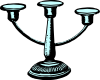 free vector Antique Candleholder clip art