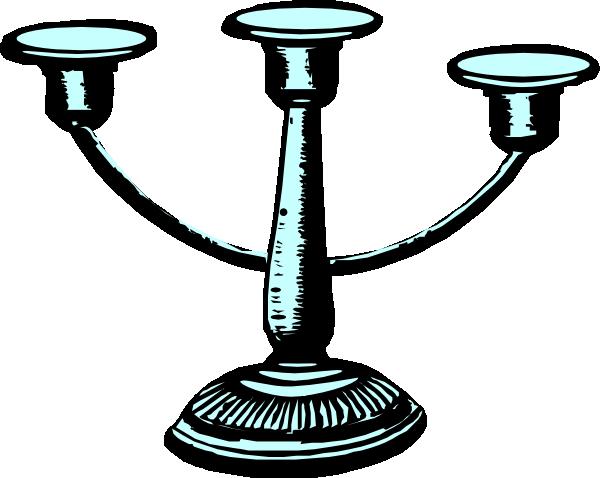free vector Antique Candleholder clip art