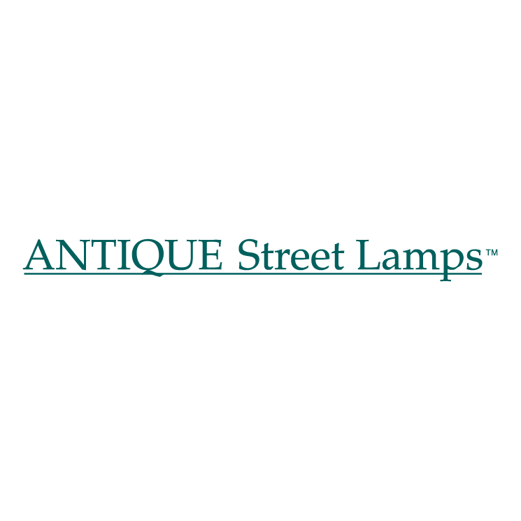 free vector Antique street lamps