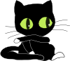 free vector Antontw Blackcat With White Sockets clip art