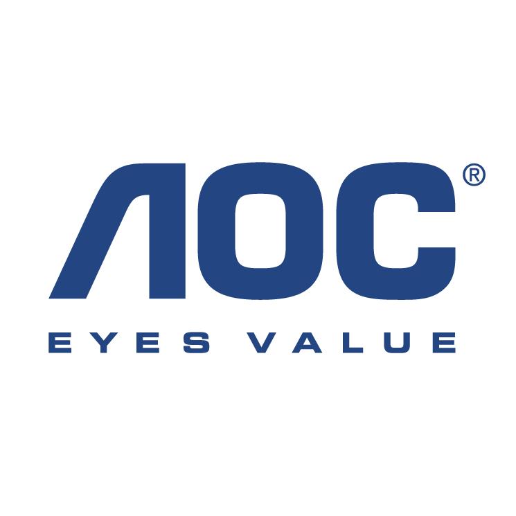 free vector Aoc monitors