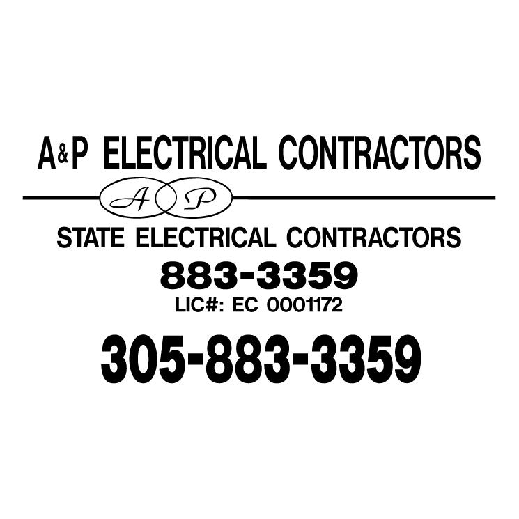 free vector Ap electrical contractors