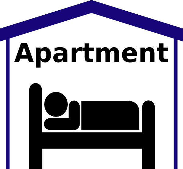 free vector Apartment Symbol Pictogram clip art