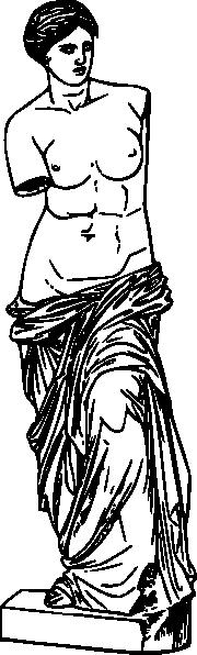 free vector Aphrodite clip art