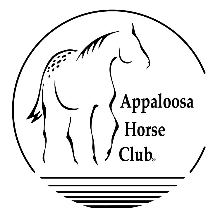 free vector Appaloosa horse club