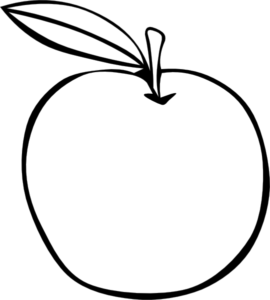 free vector Apple Coloring Fruit clip art