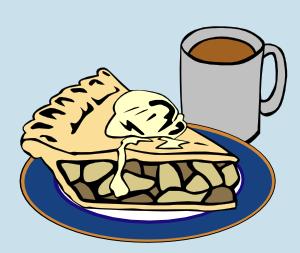 apple pie and coffee clip art free vector 4vector rh 4vector com