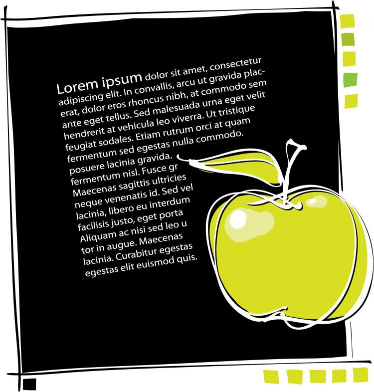 free vector Appledesigned templates vector line drawing 3