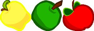 free vector Apples  clip art