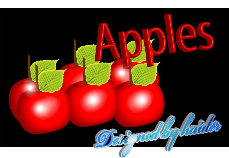 free vector Apples
