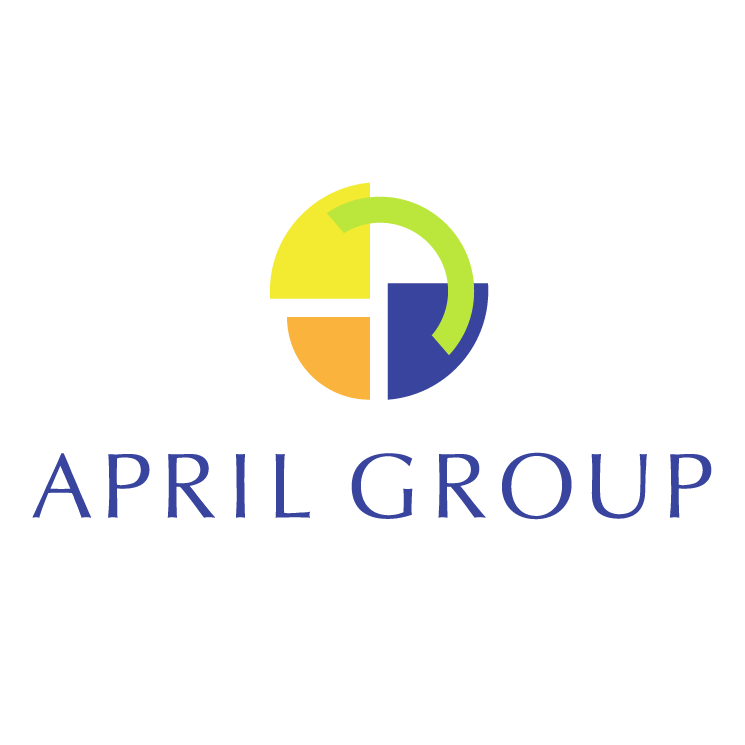 free vector April group