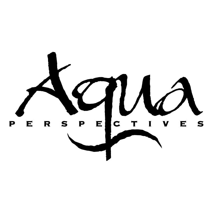 free vector Aqua perspectives
