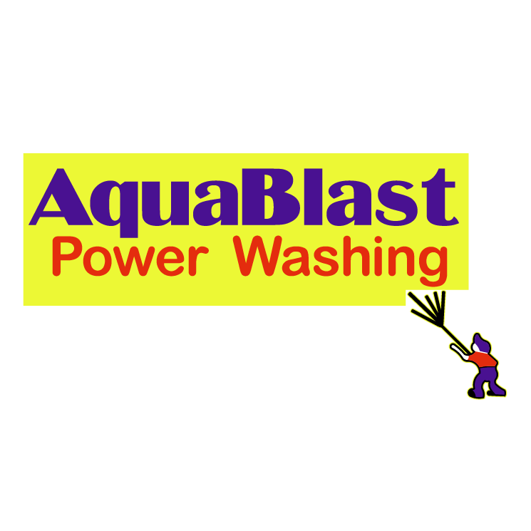 free vector Aquablast power washing
