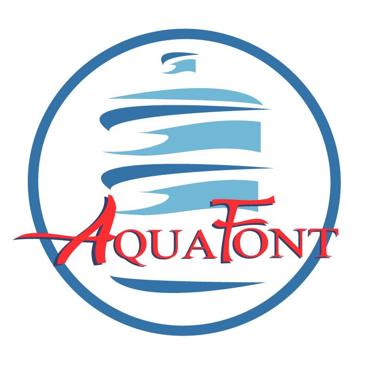 free vector Aquafont