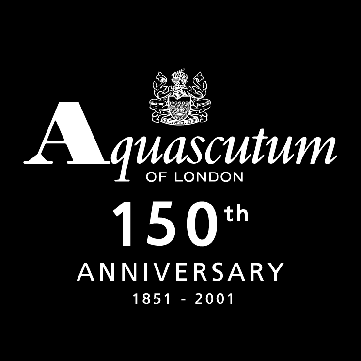 free vector Aquascutum of london