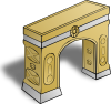 free vector Arch clip art 110141