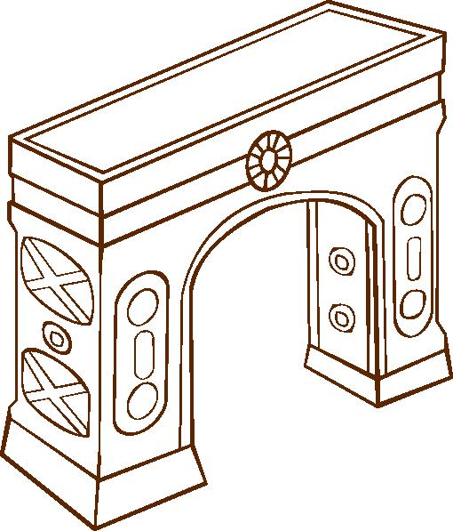 free vector Arch clip art