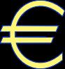 free vector Archie Symbol Money Euro Simple clip art