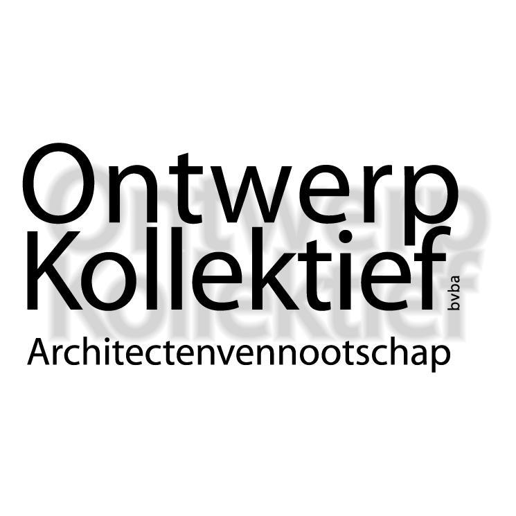 free vector Architectenvennootschap ontwerp kollektief bvba