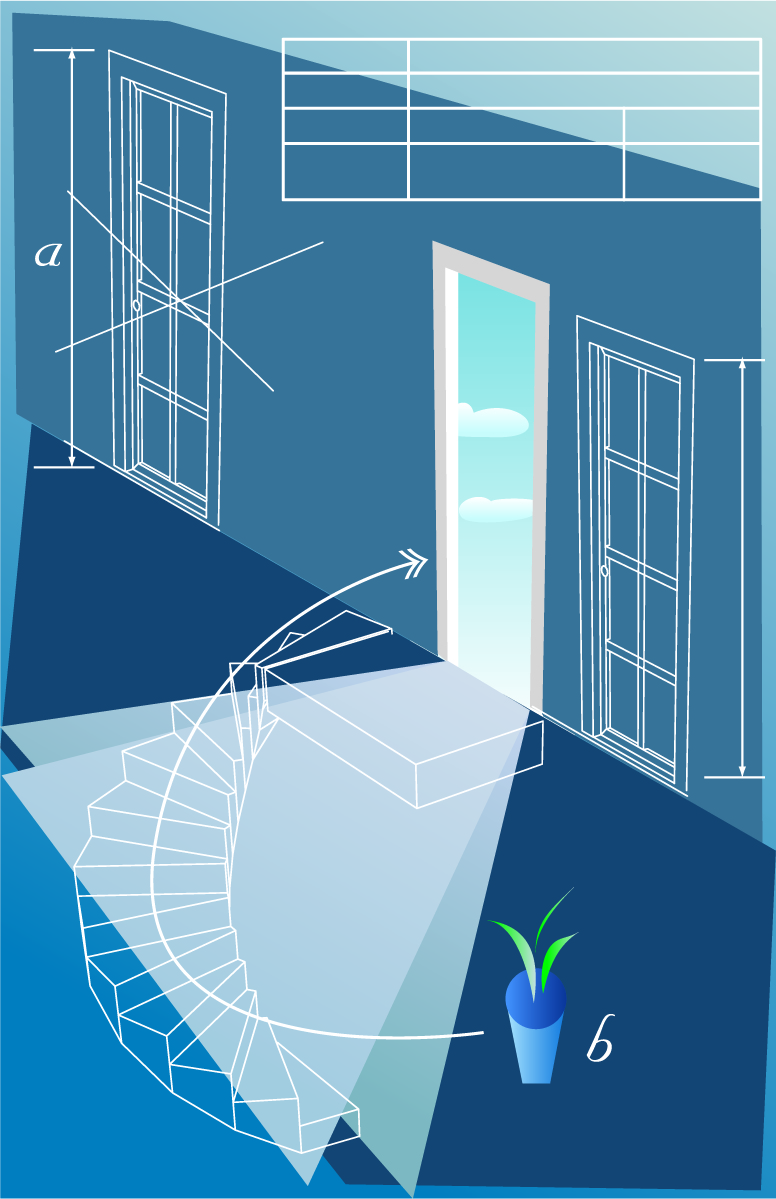 free vector Architectural series vector 6