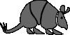 free vector Armadillo clip art