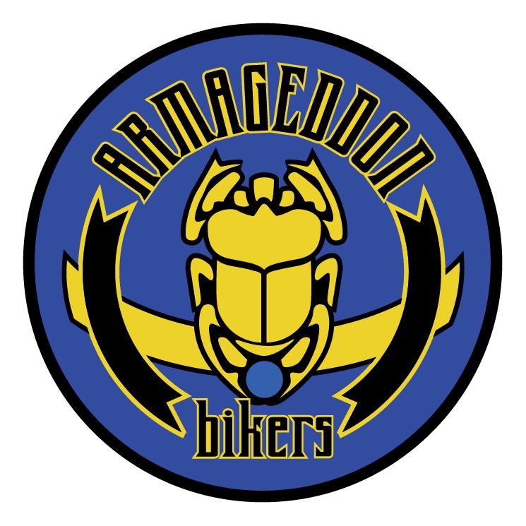 free vector Armageddon bikers