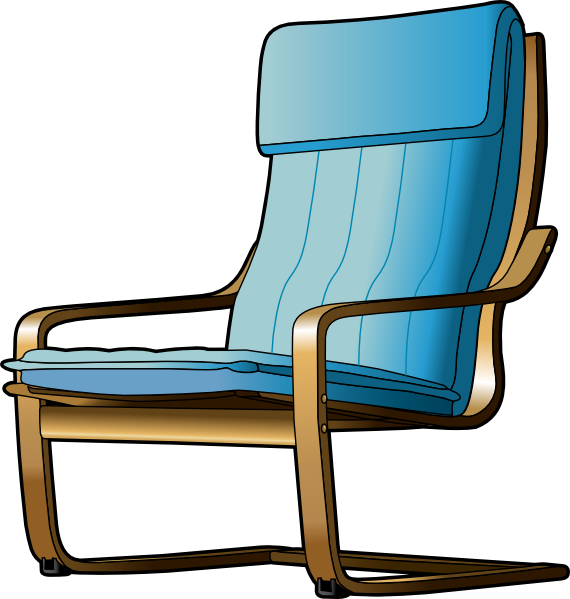 armchair clip art free vector 4vector. Black Bedroom Furniture Sets. Home Design Ideas