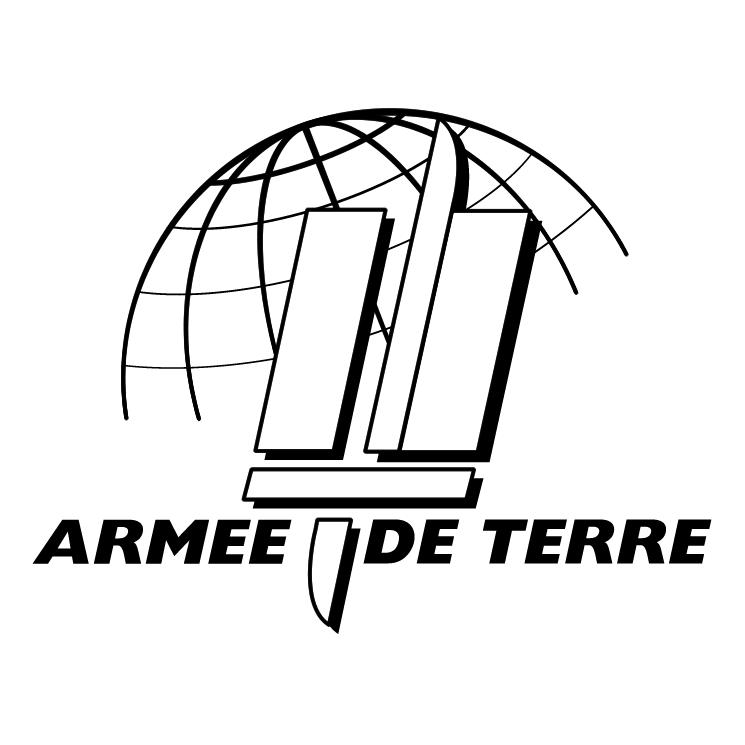 free vector Armee de terre
