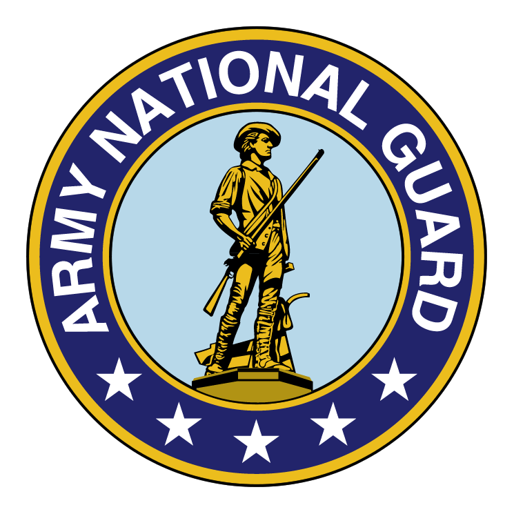 free vector Army national guard