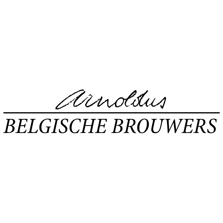 free vector Arnoldus belgische brouwers