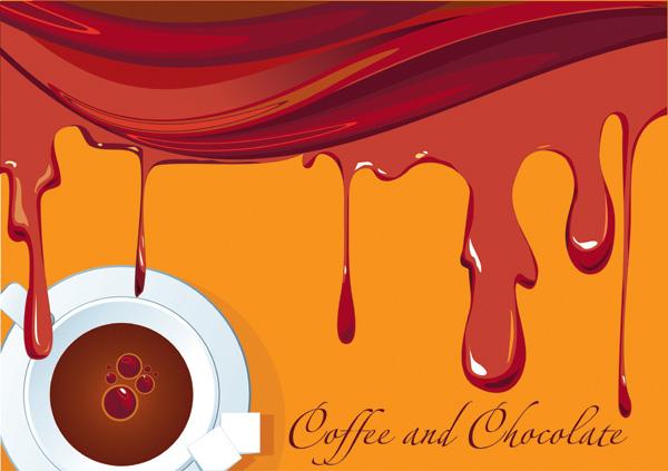 free vector Aromatic coffee theme vector