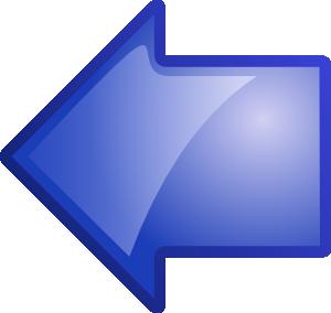 free vector Arrow Blue Left clip art